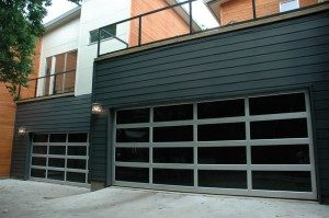 contemporary style glass garage door cedarburg wi